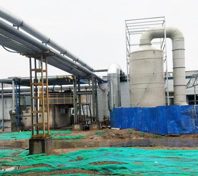 山西同煤广发VOC废气处理项目