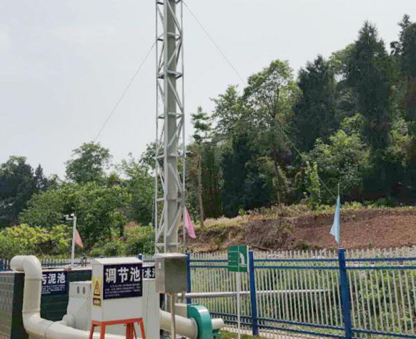 盐亭县乡镇污水废气处理装置