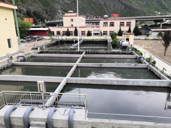 理县污水处理厂改造项目