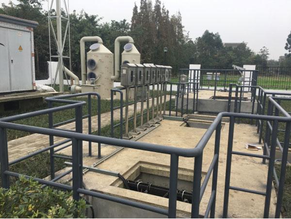 南泉污水处理厂废气处理