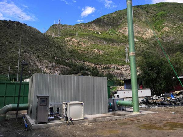 理县污水处理厂改造除臭设备