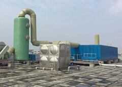 生物滤池除臭法原理简介及管